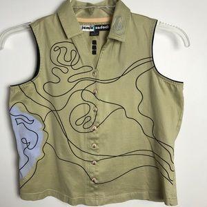 Jamie Sadock  blouse. Size Small